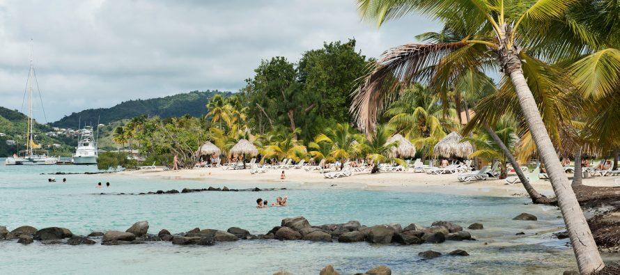 Plage île martinique