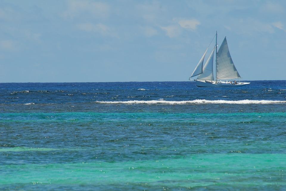 Bateau en Martinique