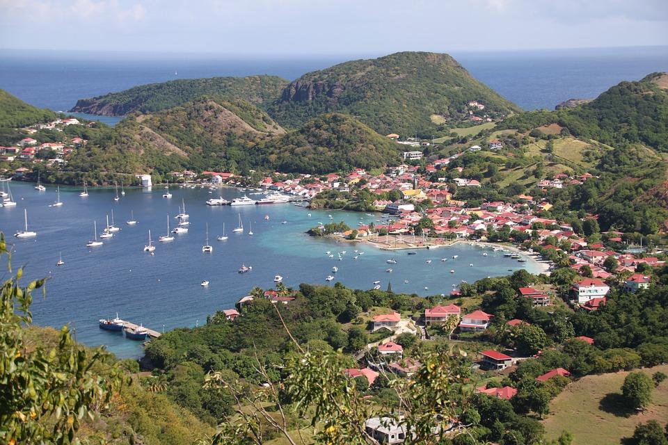 Les Saintes Bleu Guadeloupe